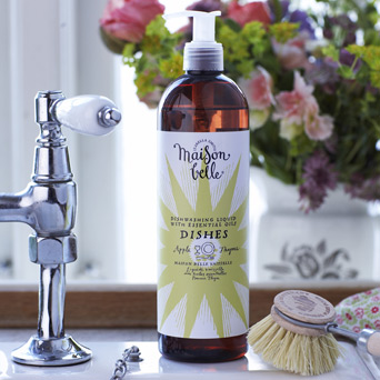 Maison Belle Apple & Thyme Dishes Washing Up Liquid