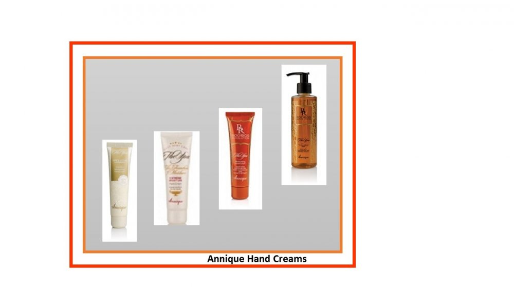Annique hand creams