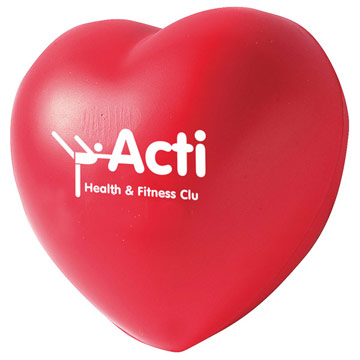 Stress Ball Heart / Promotional product fully customized  to your requirement UK Supplier