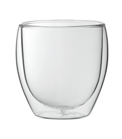 Double Wall Espresso Glass Cup