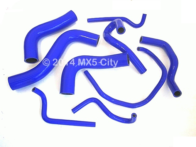 Silicone Hose Sets in Various Colours