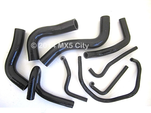 Mazda MX5 Silicone Hose Sets in Various Colours