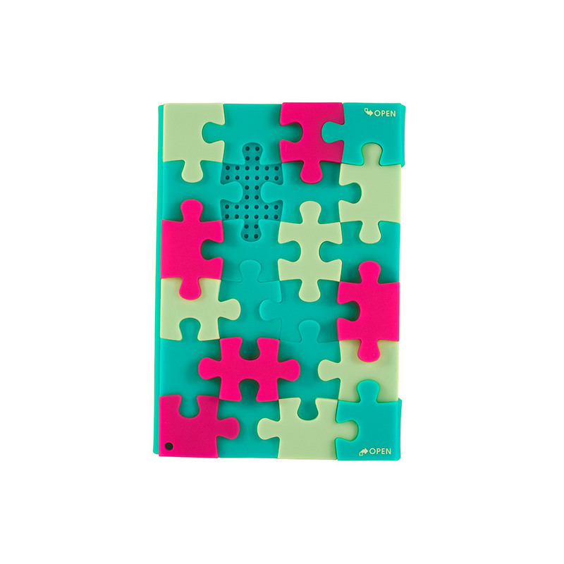 Silicone Cover Puzzle Diary/Promotional product fully customized  to your requirement UK Supplier