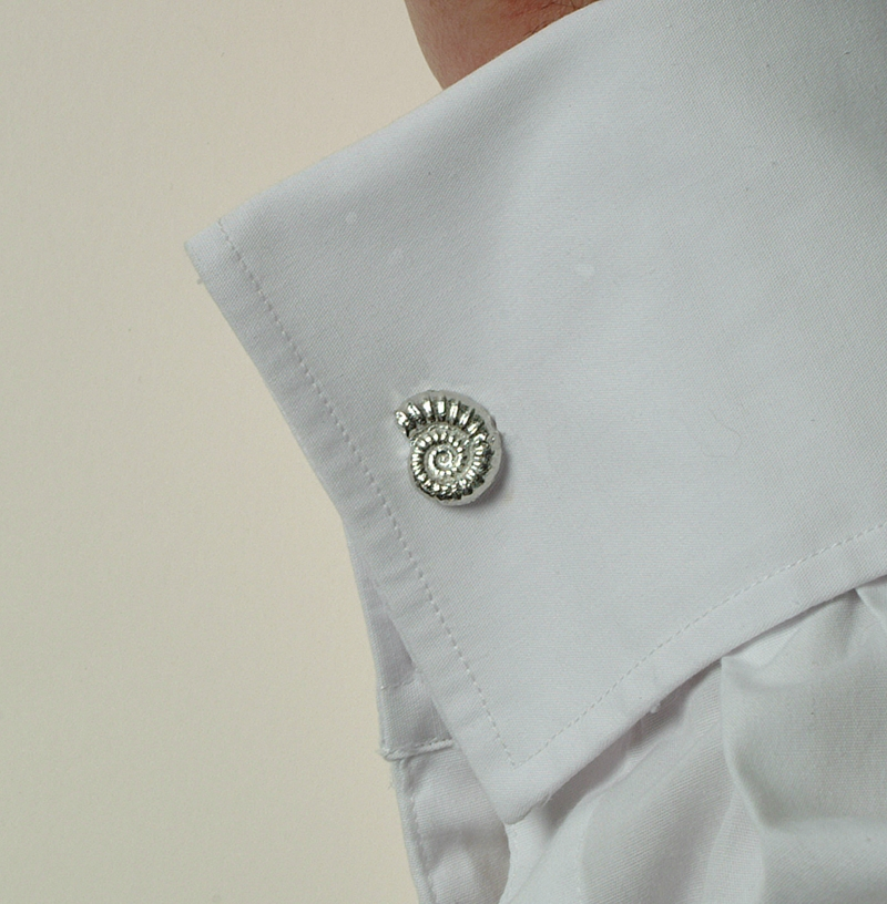 Pair of Ammonite Cufflinks
