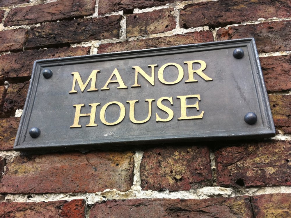 Signs in lead for Classic house name plates