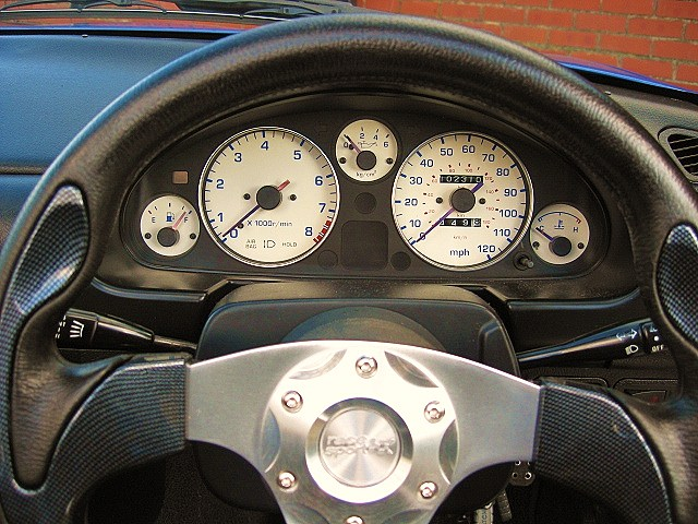 White or Cream Dial Kits for MX5 Mk1