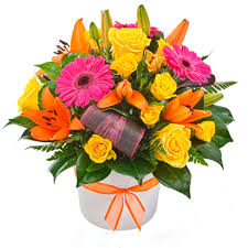 get well soon posy arrangement