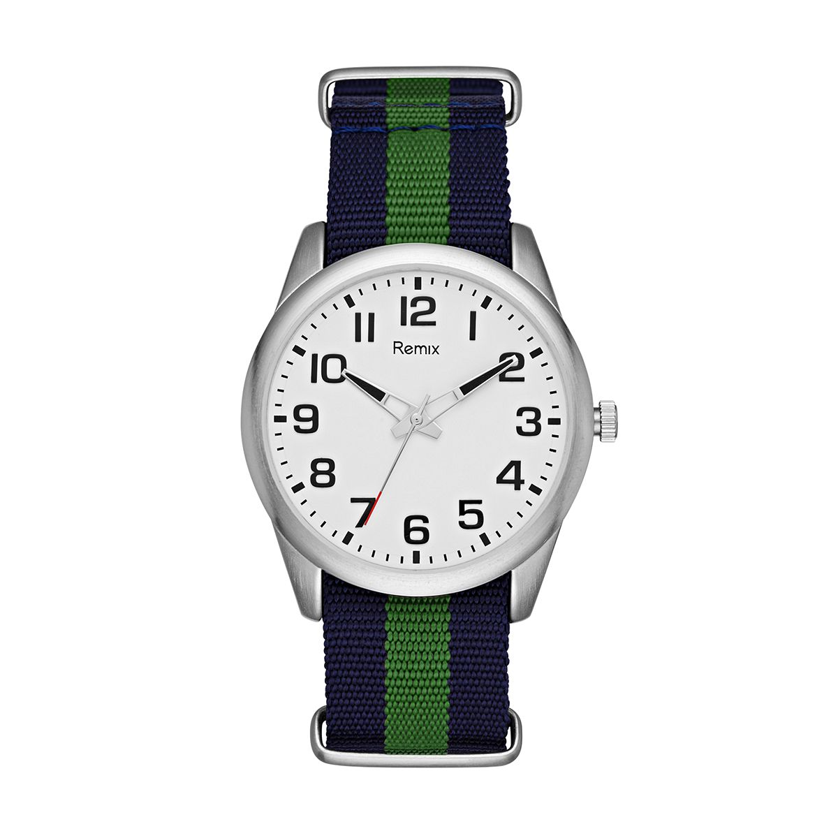 Navy & Green Nylon Strap  / Promotional product fully customized