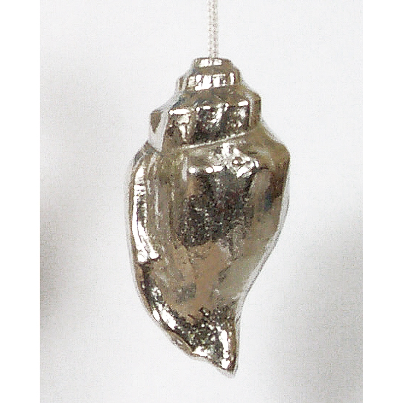 Solid Pewter Shell Light Pull