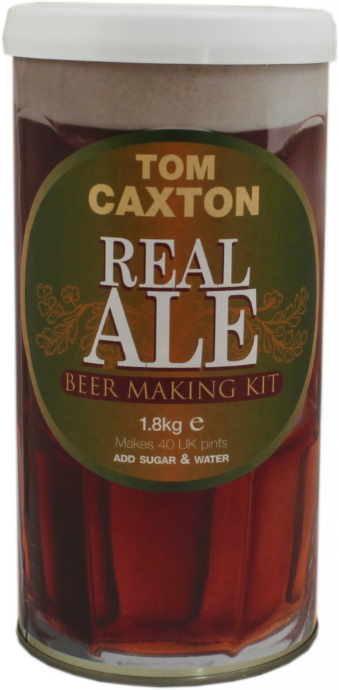 Tom Caxton Real Ale 40 Pint 1.8kg Home Brew Beer Kit
