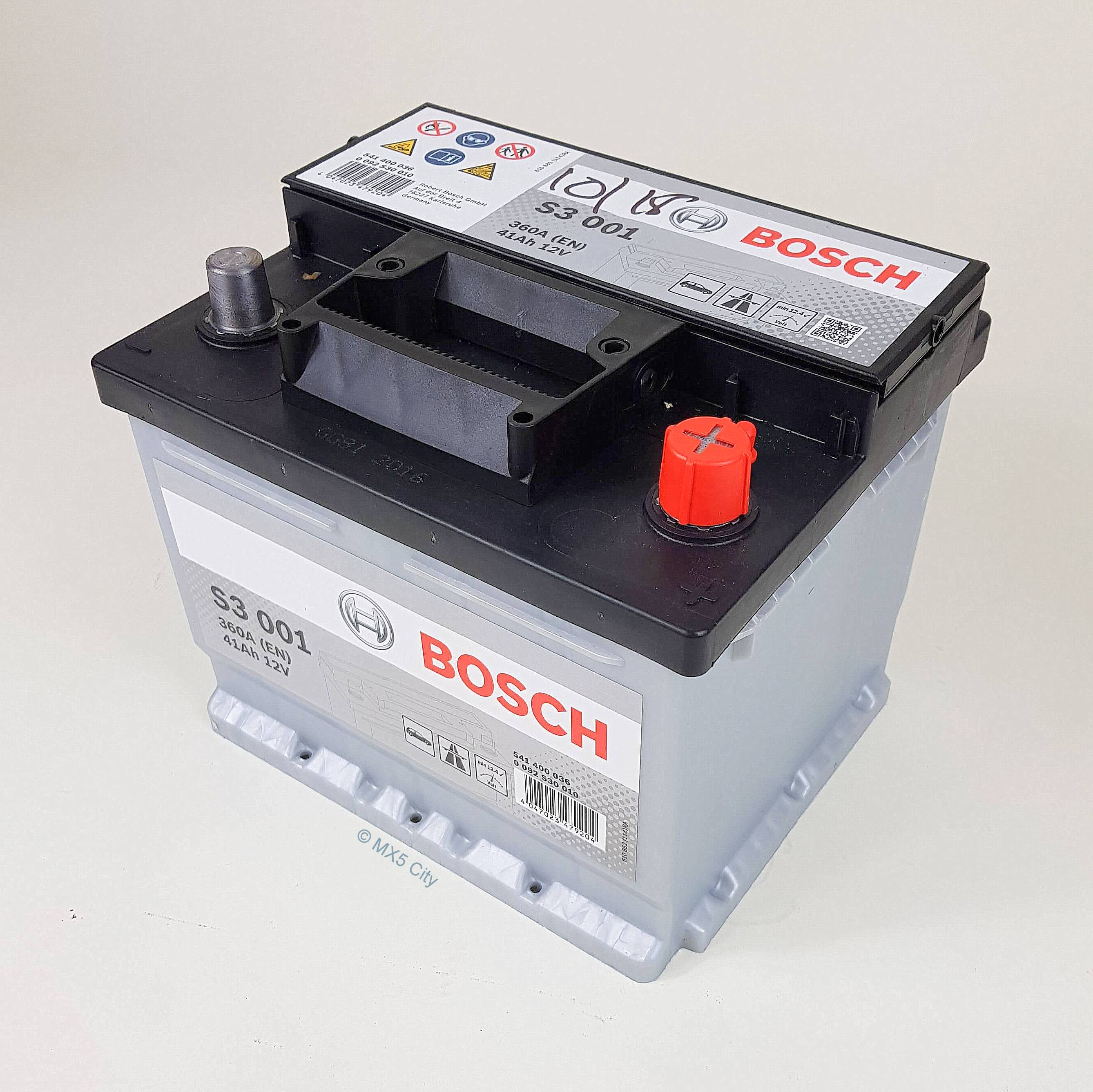 Bosch S3001 360A 41Ah Battery