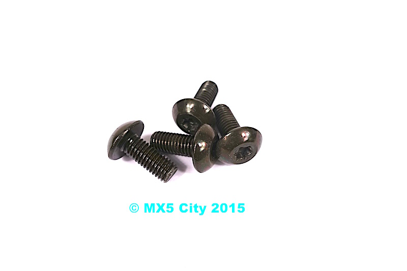 Mazda MX5 Striker Plate Fixing Bolt Set