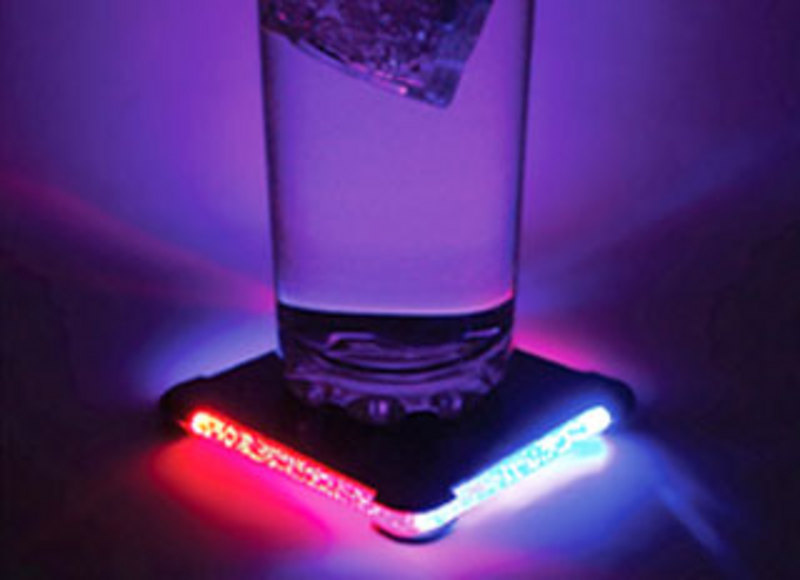 LED coaster light/ Promotional product fully customized  to your requirement UK Supplier