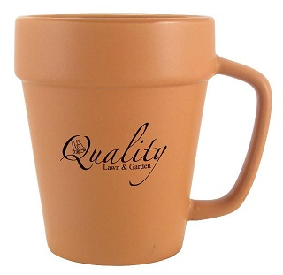 Flower pot coffee mug/ Promotional product fully customized  to