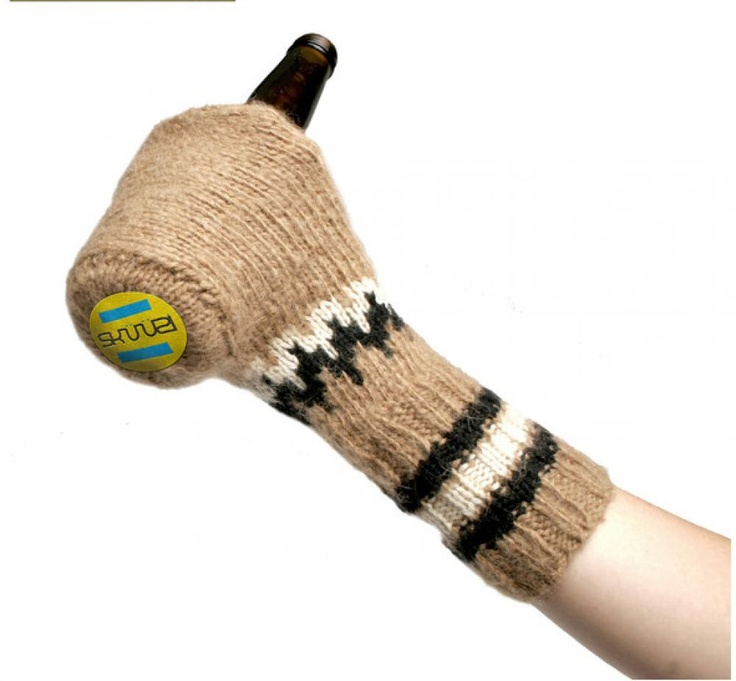 Wool Beer Mitt Glove / Promotional product fully customized  to your requirement UK Supplier