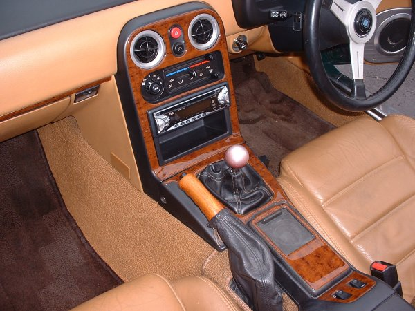 Wood dash kit Mk1