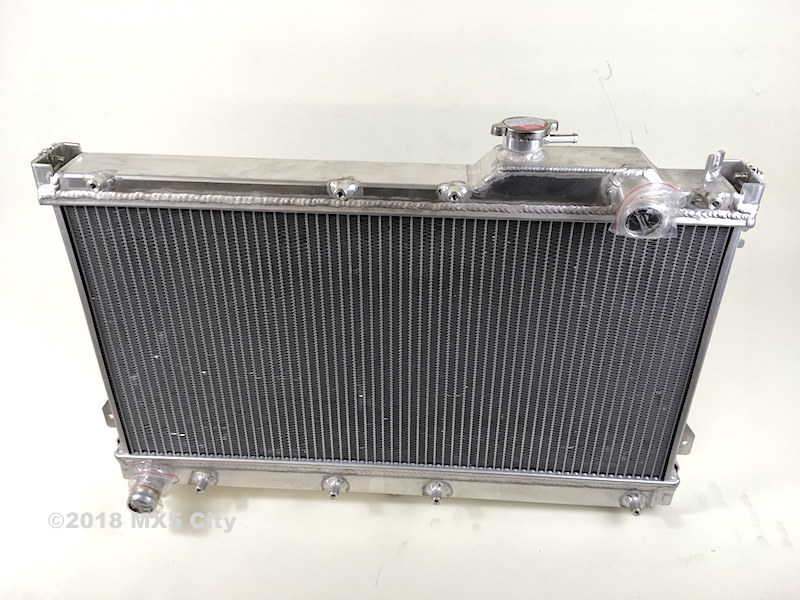 Mazda MX5 High flow aluminium radiator.