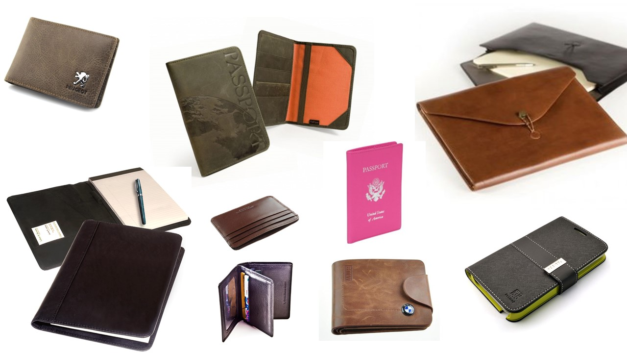 Leather document holder / Promotional product fully customized  to your requirement UK Supplier
