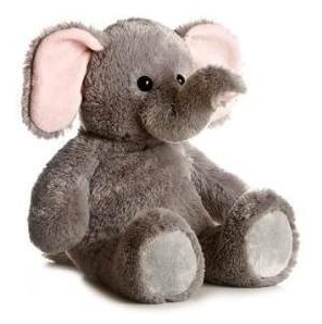 Soft Cuddly Toy Plush - Elephant / Promotional Product Fully Customised To Your Requirement UK Supplier