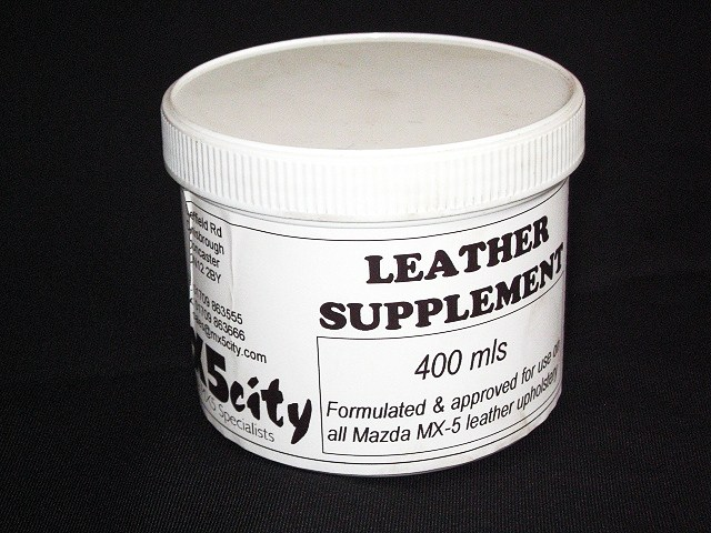 Mazda MX5 Leather Supplement