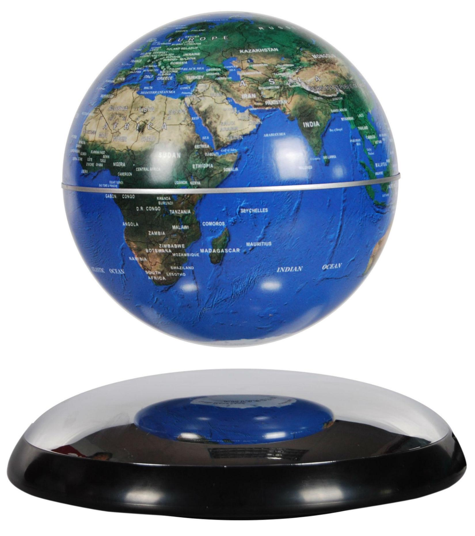 Magnetic Levitation Rotating Floating Globe / Promotional product fully customized  to your requirement UK Supplier