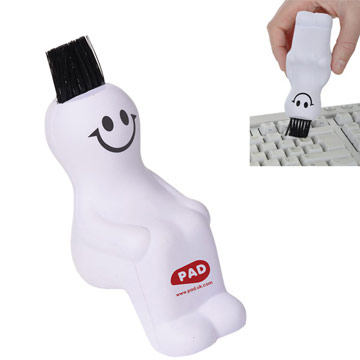 Stress Ball & Brush Computer Buddy / Promotional product fully customized  to your requirement UK Supplier