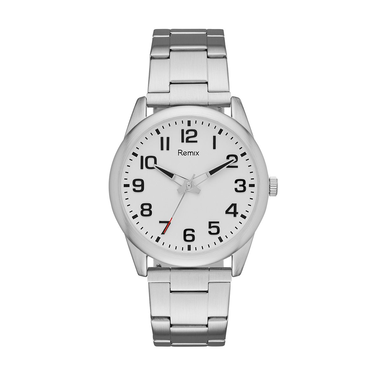 Classic Stainless-Steel White  Dial Watch ?/ Promotional product