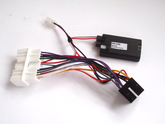 Radio Adadpter harness with remote control for MX5