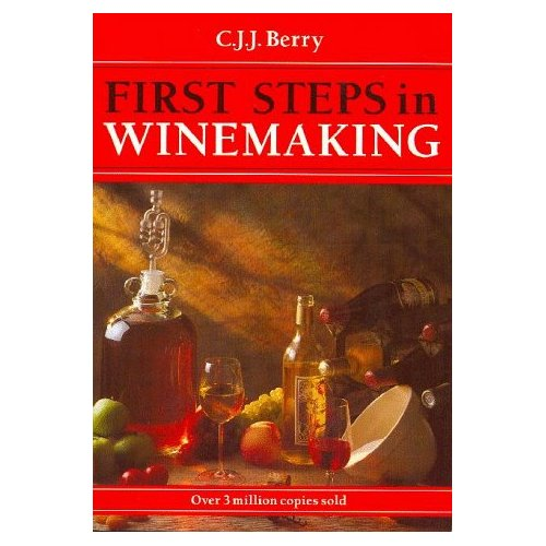First Steps In Winemaking Home Brew Book