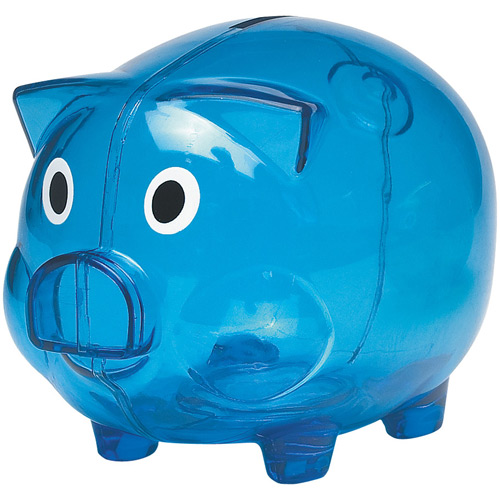 Piggy bank transparent / Promotional product fully customized  to your requirement UK Supplier