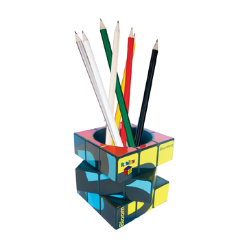Rubik's Pen Desktop Pot / Promotional product fully customized  to your requirement UK Supplier