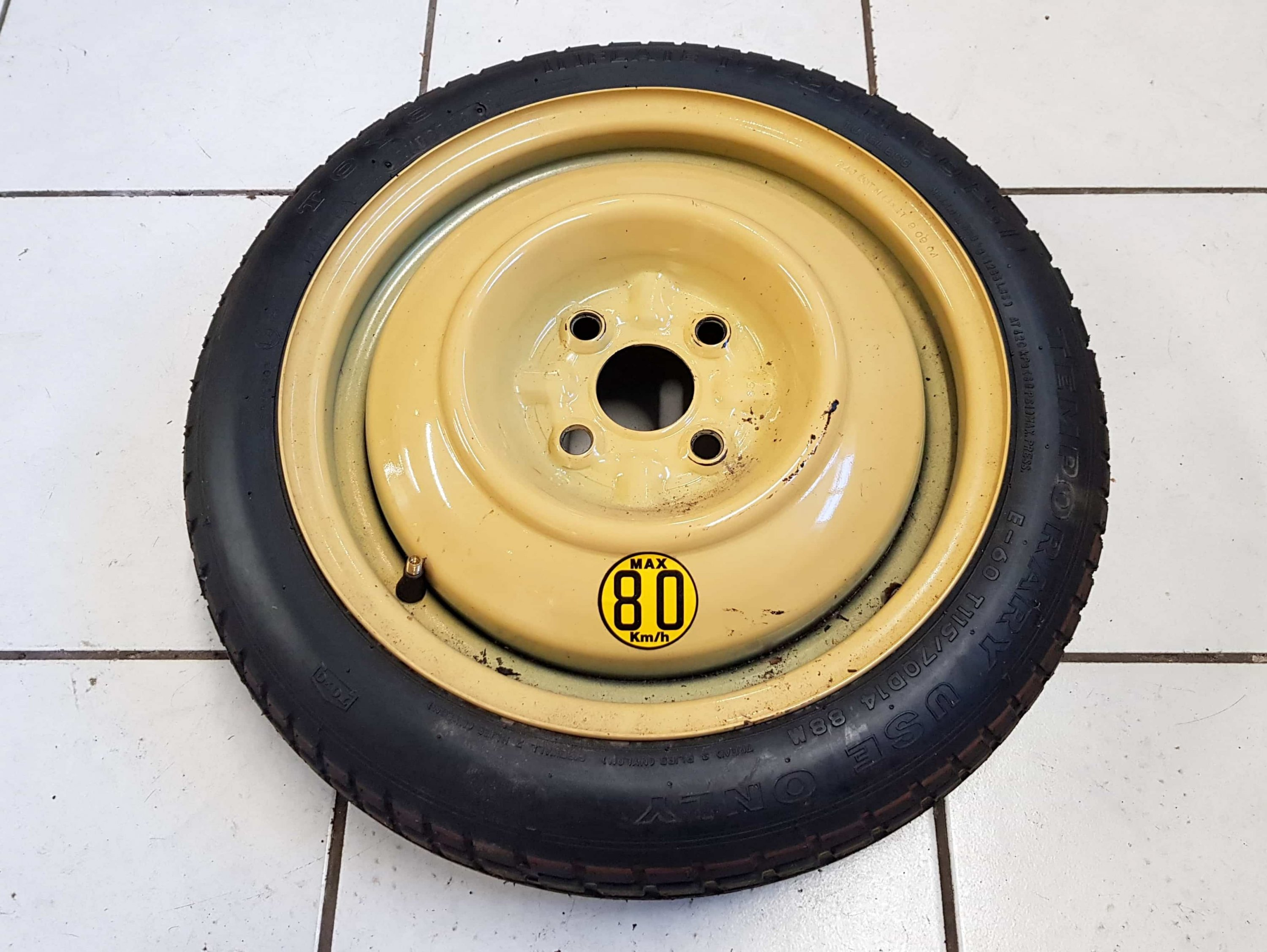 "Mazda MX5 14"" space saver spare wheel Mk1 Mk2"