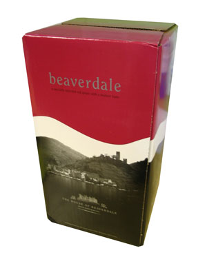 Beaverdale Shiraz 30 Bottle Home Brew Wine Kit