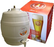 Brew Buddy Lager Home Brew Starter Kit with Pressure Barrel