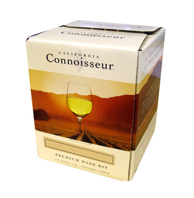 California Connoisseur Pinot Chardonnay 30 Bottle Home Brew Wine Kit