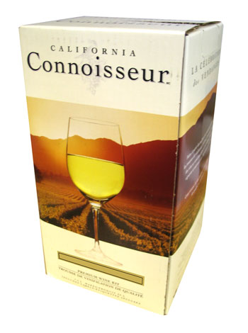 California Connoisseur Pinot Blanc 30 Bottle Home Brew Wine Kit