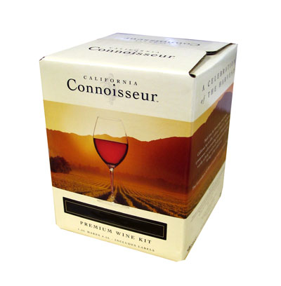 California Connoisseur Pinot Noir 30 Bottle Home Brew Wine Kit