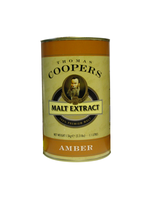 Coopers Unhopped Amber Malt Extract 1.5Kg