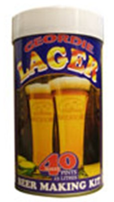 Geordie Lager 40 Pint 1.6kg Home Brew Kit