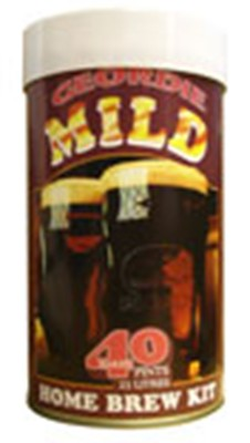 Geordie Mild 40 Pint 1.6 Kg Home Brew Beer Kit
