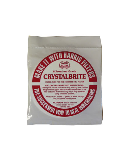 Harris Crystalbrite Filters 6