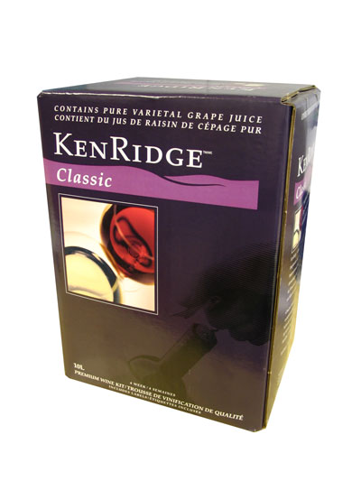 Kenridge Classic 10 Litre Merlot 5 Gallon 30 Bottle Kit