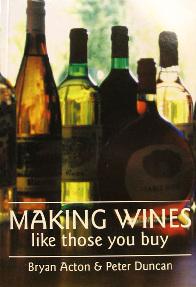 Making Wines Like Those You Buy Home Brew Book