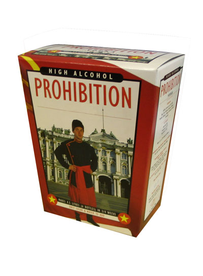 Prohibition Vodka 6 Bottle Home Brew Spirit Kit