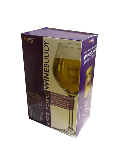 Wine Buddy Sauvignon Blanc 30 Bottle Home Brew Wine Kit