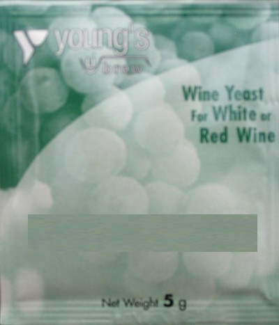 Youngs Bordeaux White Yeast