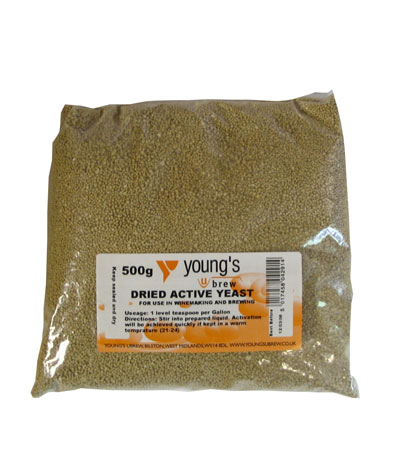 Youngs Dried Active Yeast 500g