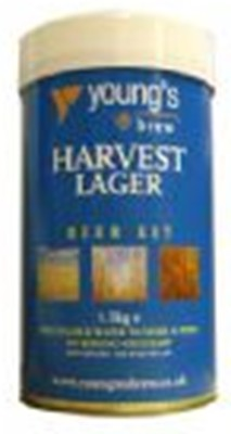 Youngs Harvest Lager 40 Pint 1.5kg Home Brew Beer Kit