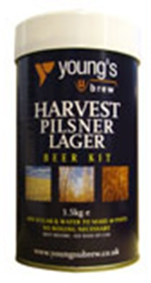 Youngs Harvest Pilsner 40 Pint 1.5kg Home Brew Beer Kit