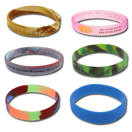 Wristband various style/ Promotional product fully customized  to your requirement UK Supplier